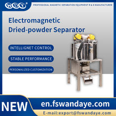 Magnetic Magnetic Separator Machine WG220-B-V-11 , Kaolin feldspar powder material of  lithium battery、 food、 chemical