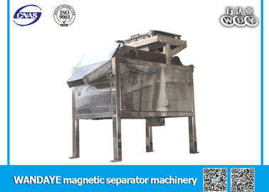 Stainless Steel Slon Magnetic Separator , Automatic Magnetic Separator