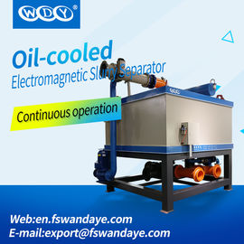 Mining Equipment Wet Magnetic Separator WY1000L Water Cooling / Oil Cooling For Kaolin/Ceramic/Feldspar