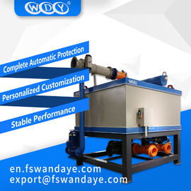380 ACV Automatic oil - Cooling Electromagnetic Separator For kaolin feldspar ceramic Slurry